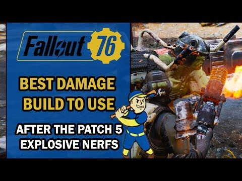 Fallout 76 Guide - Best DAMAGE BUILD to Use & Abuse After Patch 5 (Customized Melee Build) thumbnail