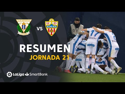 Leganes Almeria Goals And Highlights