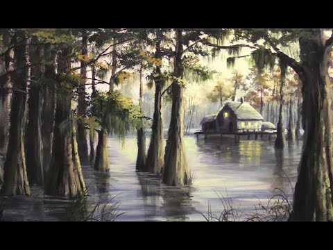 Sunset Swamp | Paint with Kevin ®