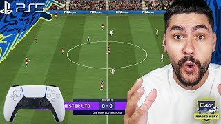 PLAYING FIFA 21 ON PS5 - MY FIRST IMPRESSION ON THE NEW PS5 CONTROLLER AND GAMEPLAY!!!