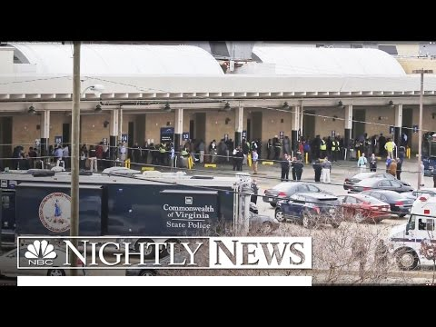 Gunman Opens Fire at Virginia Bus Station, Multiple Victims Injured | NBC Nightly News