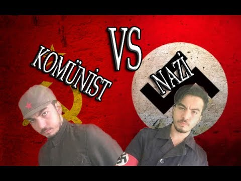 COMMUNİST VS NAZI - Porçay Rap Battles