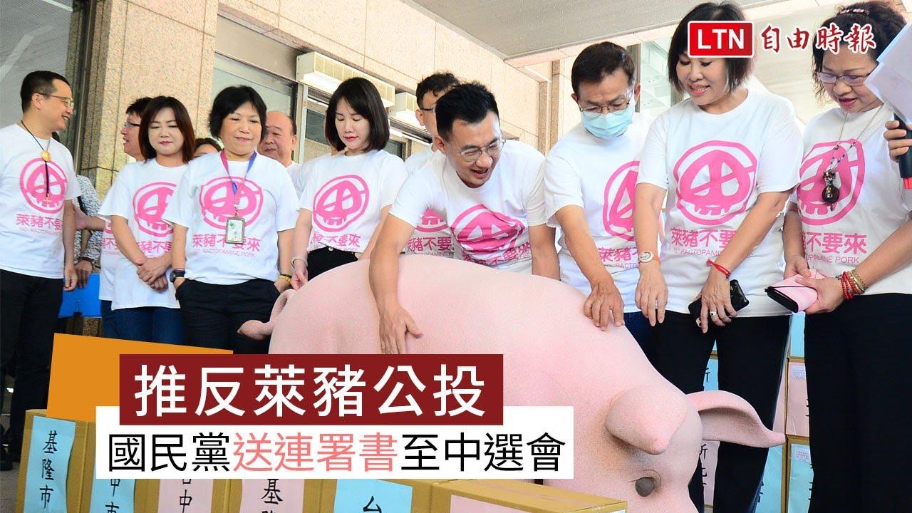 推反萊豬、公投綁大選公投 國民黨今送第一階段連署書至中選會