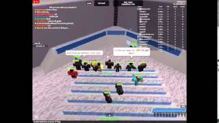 Meeting Tadcool! on  ROBLOX!