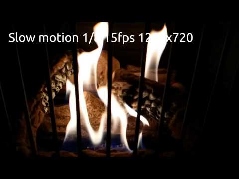 Samsung Galaxy Note 3 video test 120fps 60fps 1080p 720p