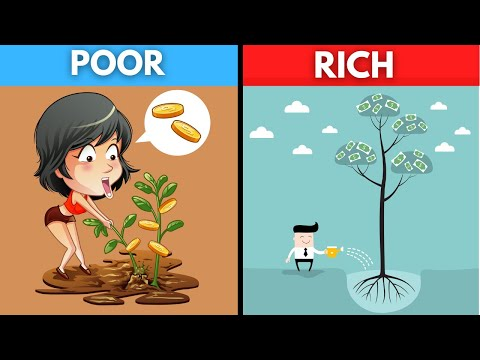 How to Wisely Invest As A Wealthy Person vs Someone Who Is Poor