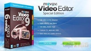 Movavi Video Editor Урок №3 как создать текст, заголовок