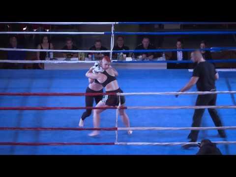 ''Gladiator Fight Night'' Pula 2016 - Maja Britvić (Trojan) - Sonja Krizmančić (CROMMA)