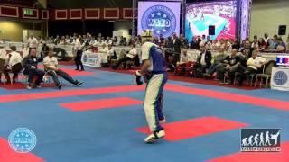 Raymond Daniels USA v Erik Zorn SLO WAKO World Championships 2015