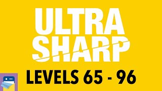 Ultra Sharp: Levels 65 - 96 Walkthrough Guide & Solutions & iOS/Android Gameplay (by 1Button SARL)