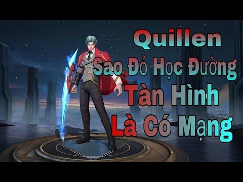 Liên Quân | Trải Nghiệm Skin Mới Quillen °.° Sao Đỏ Học Đường Cùng [Turtle Gaming Tv].