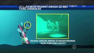 Basarnas pastikan ekor pesawat AirAsia di perairan Selat Karimata tidak geser - NET24