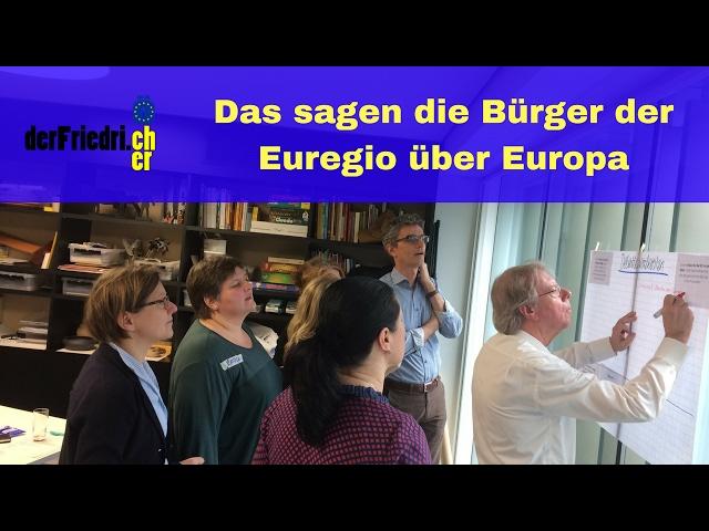 Euregio Bürger diskutieren Europa