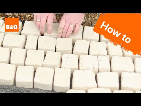 How to lay carpet stone paving - 동영상
