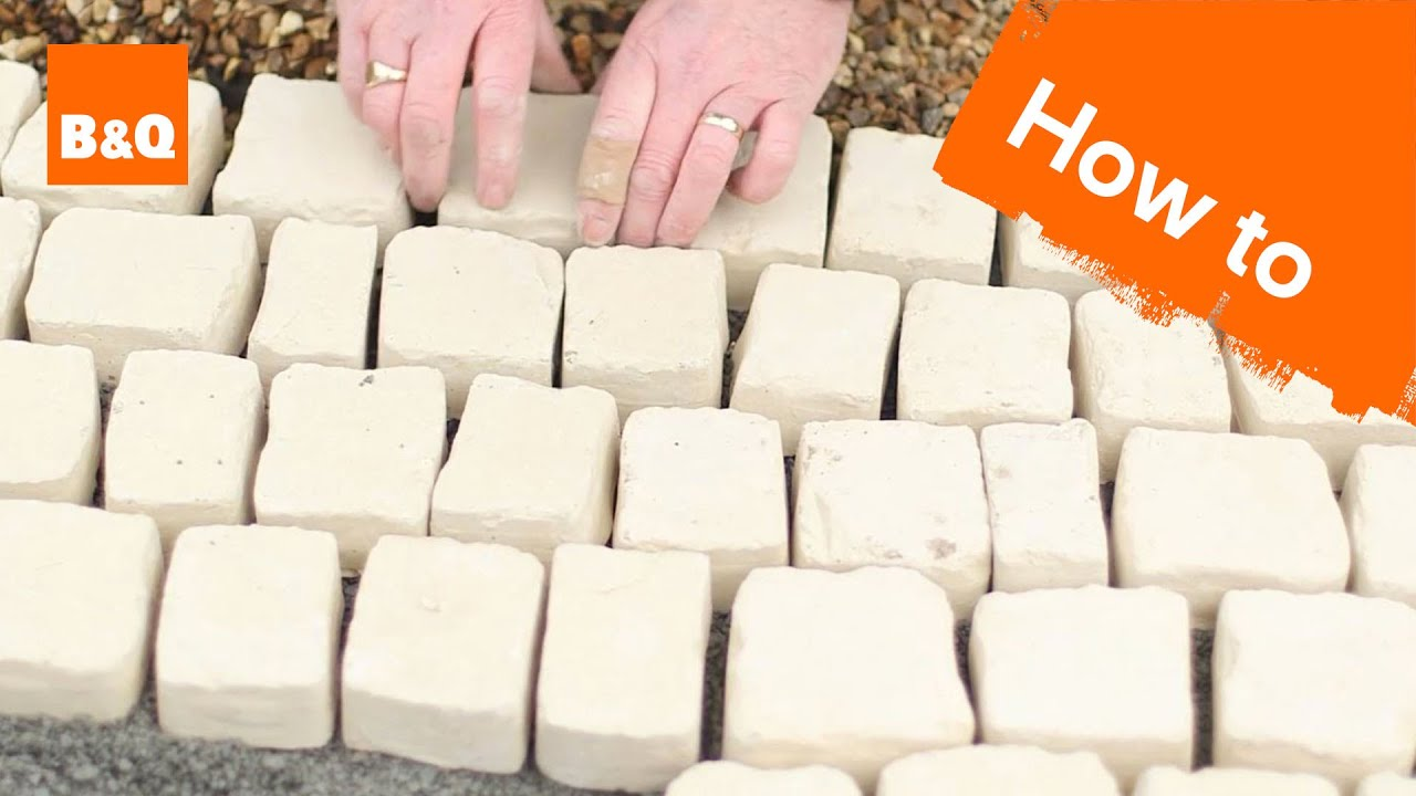 How To Lay Carpet Stone Paving Youtube