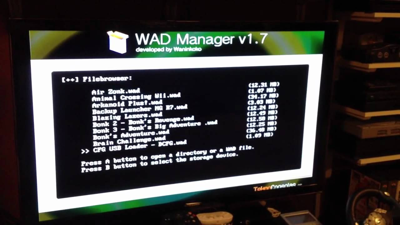 Finally got Wad Manager on the Wii