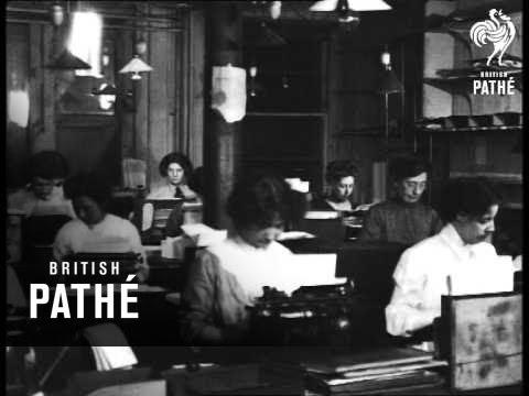 Typing Pool (1910-1920)