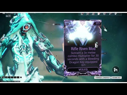 WARFRAME - RIVEN MOD Sustain a 3x melee combo multiplier for 30 seconds EASY WAY