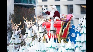 SANTA'S IN TOWN: Toronto celebrates 115th annual Santa Claus parade
