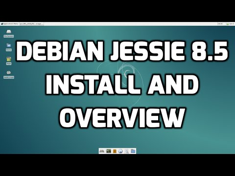 Debian Jessie 8.5 - Install and Overview