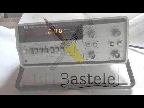 BitBastelei #241 - HP 5314A Univeral Counter