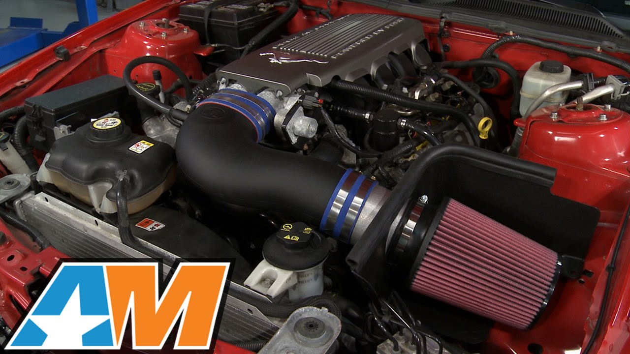 Mustang C L Racer Cold Air Intake 2005 2009 Gt Review Youtube