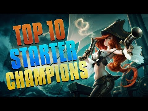Top 10 Starter Champions - League Academy - Episode 02