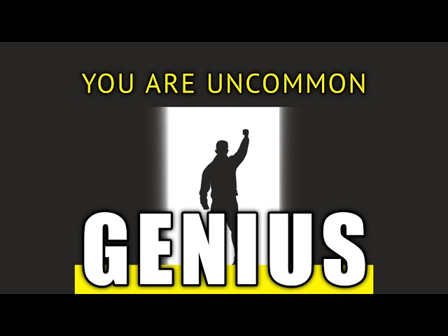 You Are Uncommon GENIUS | Rev Dr. Greg Harte | First Center for Spiritual Living NYC