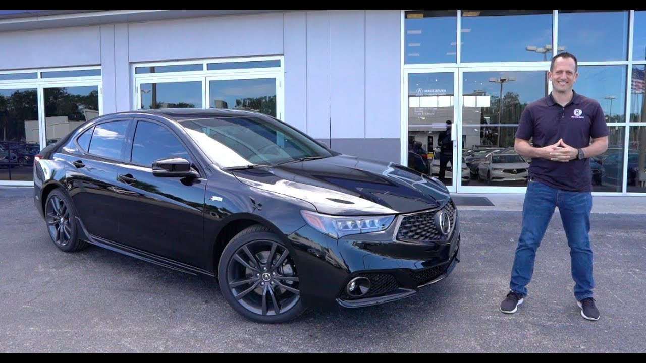 Is The 2020 Acura Tlx A Spec V6 The Perfect Luxury Sports Sedan For The Money Youtube