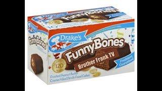 "Drakes ""FUNNY BONES"" Snack Cakes!!! Yummo!!!"