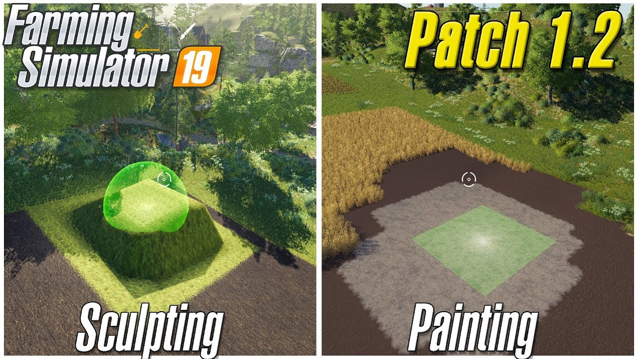 Superieur FS 19 Landscaping | Sculpting And Painting | Patch 1.2 Overview