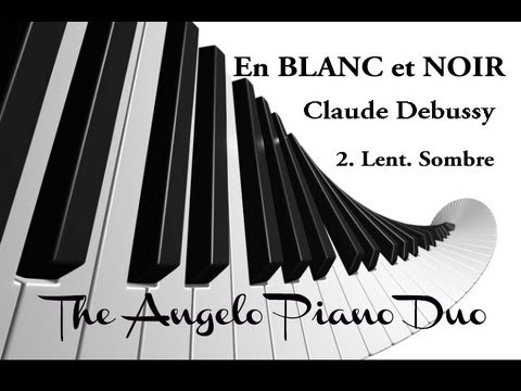 angelo piano duo en blanc et noir 2 2 claude debussy youtube. Black Bedroom Furniture Sets. Home Design Ideas