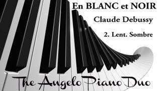 """Angelo Piano Duo """"En Blanc et Noir"""" 2/2 - Claude Debussy"""