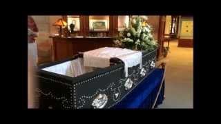 President Abraham Lincoln's Coffin at the Lincoln Shrine, in Redlands, CA
