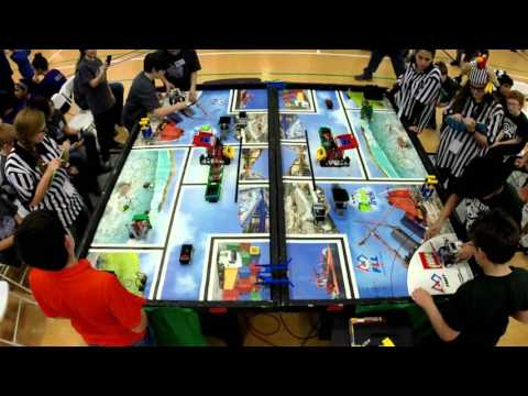 Rhode Island First LEGO League Championship 2016 Highlights
