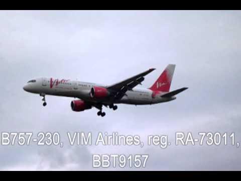 B757-230, VIM Airlines, PARDUBICE AIRPORT, LKPD, 4.1.2013