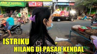 Ngantar Istri Belanja ke Pasar Kendal Ngawi
