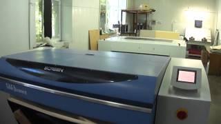 Весь процесс фотовывода. Вольф типография(На видео подробно показан процесс вывода готовой печатной пластины для офсетной печати. Видео снято в типо..., 2012-07-25T13:24:23.000Z)