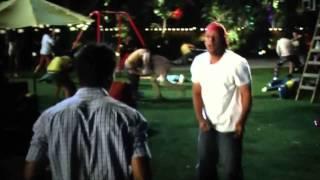 Adam Sandler vs Taylor Lautner - Fight @ Grown Ups 2