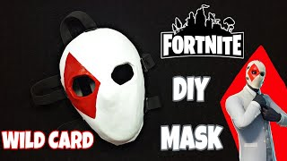 DIY- How to Make Fortnite Battle Royale Wild Card