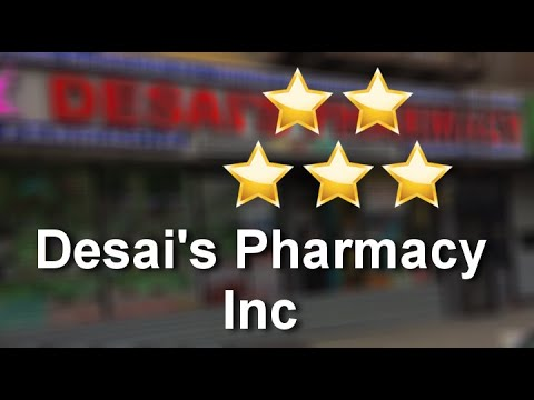 Desai's Pharmacy Inc Bronx Remarkable Five Star Review by Relli A.