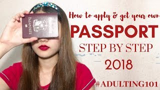 How to apply & gęt your own Philippine Passport 2018 #Adulting101   Step by Step Tutorial