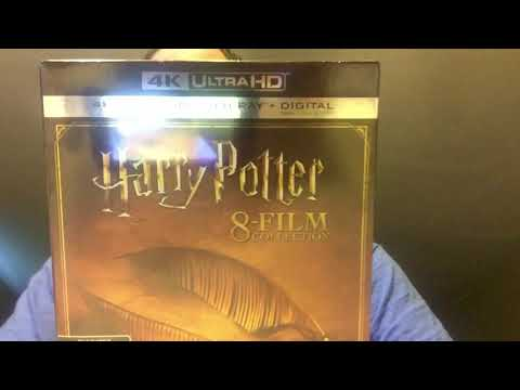Harry Potter 8 Film Collection 4K Ultra HD Blu-Ray Unboxing