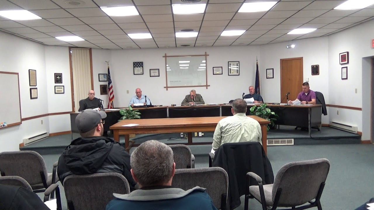 Rouses Point Village Board Meeting  2-3-20