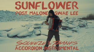 """Post Malone & Swae Lee - """"Sunflower""""   Accordion Cover"""