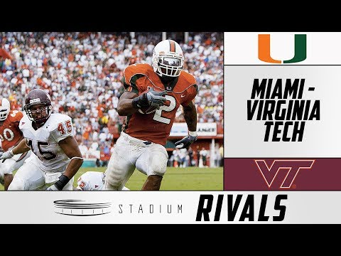 Miami-Virginia Tech Rivalry: History Of This Heated Battle | Stadium Rivals