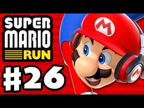 Super Mario Run - Gameplay Walkthrough Part 26 - 5 Star Rarity Increased! (iOS)