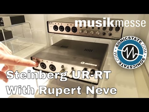 MESSE 2018: Steinberg UR-RT Interfaces Designed With Rupert Neve