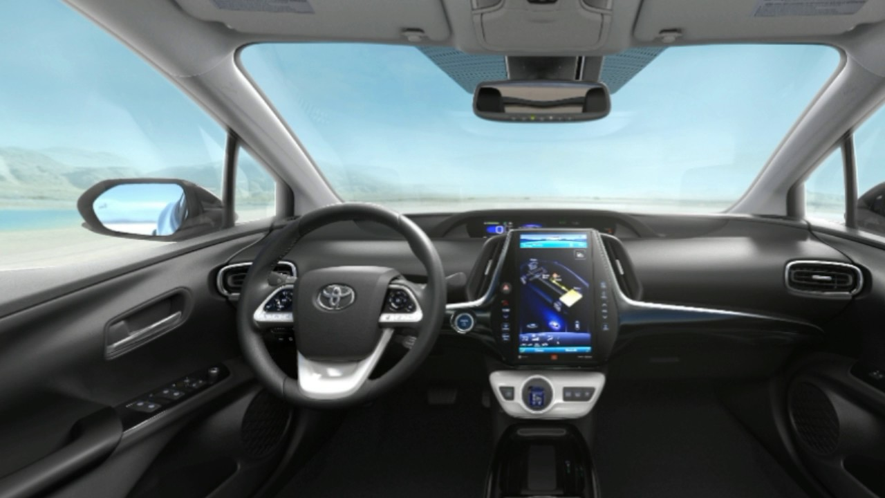 High Quality 2017 Toyota Prius Prime Interior
