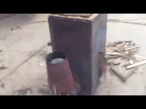 Продается. Пиролизная печь для сжигания резины и прочих отходов